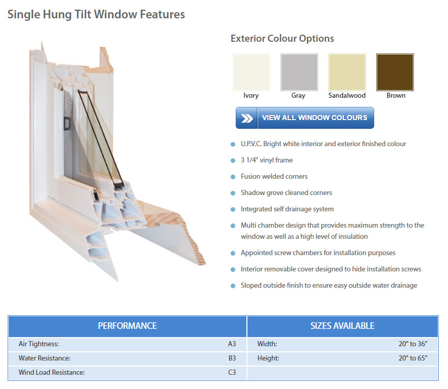 Single-Hung-Tilt-Window-Features