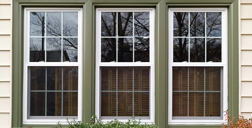 Difference Between Single And Double Hung Windows : Single and double hung window units│ directpro