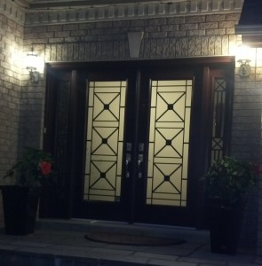 We sell entry doors in Toronto
