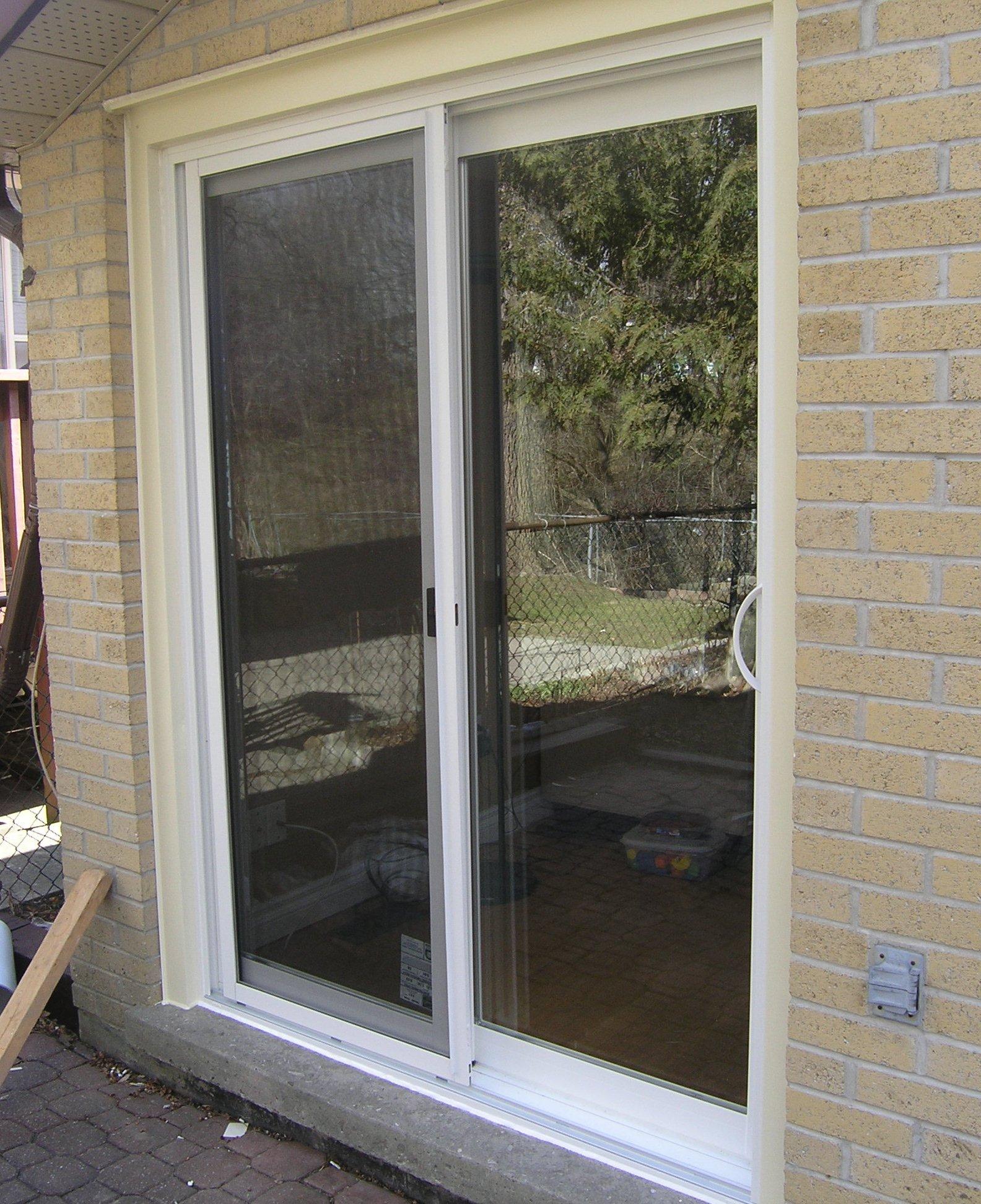 1944 #7C6B4F Windows And Patio Door Retrofit Installation And In Etobicoke Direct  pic Retrofit Patio Doors 11584
